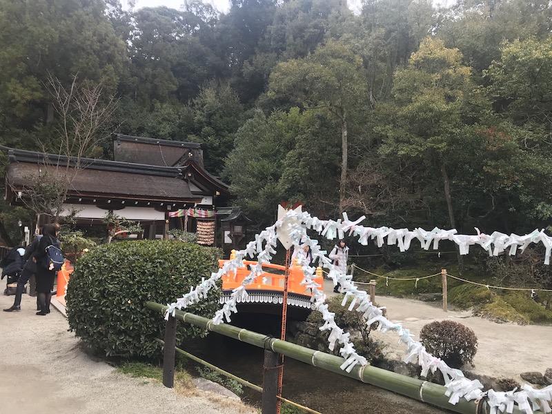 京都の上賀茂神社参拝