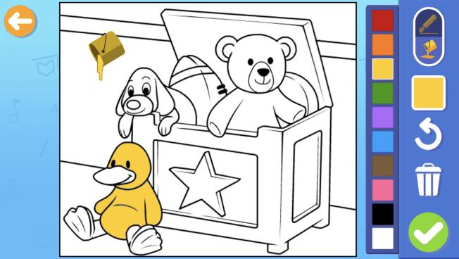 楽天ABCマウス:チケットタウン:塗り絵